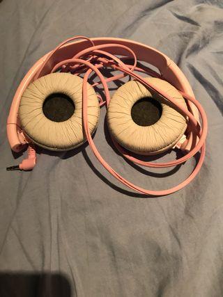 Sony Headphones pink