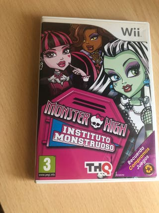 Juego Wii monster high NUEVO