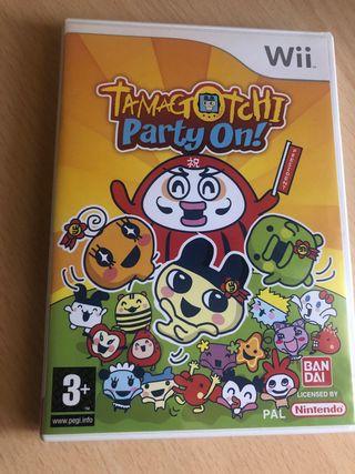 Juego Wii Tamagotchi party on NUEVO