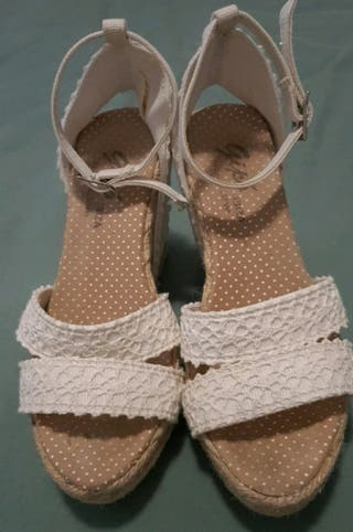 sandalias de cuña Originales Ibicencas