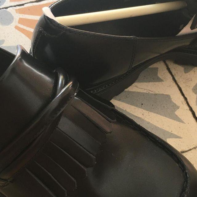 Zapato Mocasines de Cuero Negro Vagabond