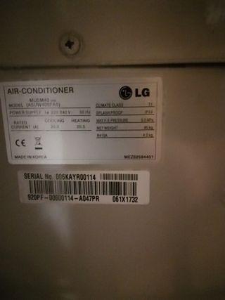 Bomba de Calor LG
