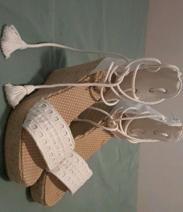 sandalias ibicencas Originales de cuña