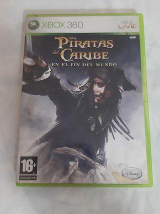 juego xbox360 piratas del caribe