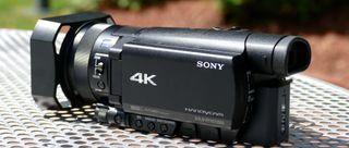 Videocámara 4k SONY FDR - AX 100