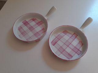 2 platitos sartén aperitivo