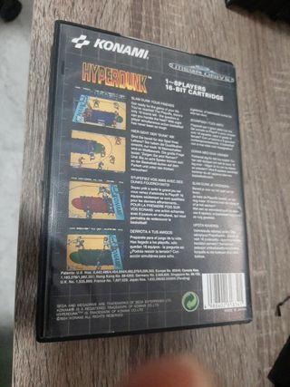 Hyperdunk Mega drive
