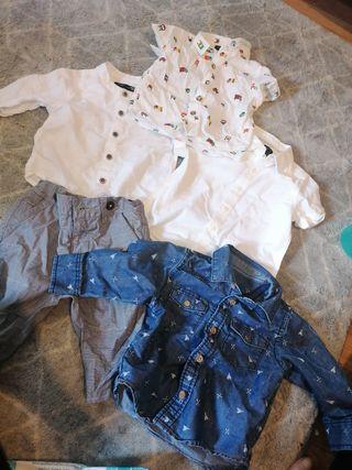 child clothes bundle 3/6 months and 6/9 mon jacket