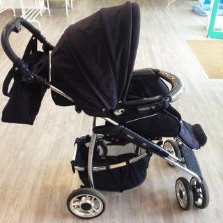 carro bebecar m3.incluye capazo,silla y maxicosi.