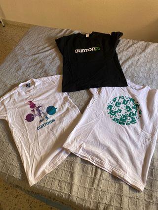 Camisetas 35e las tres