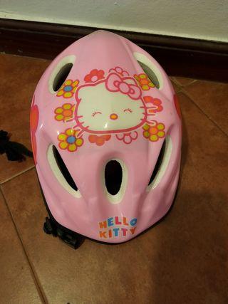 casco bicicleta niña.