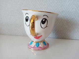 Taza Chip cerámica de La Bella y la Bestia