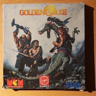 Golden Axe Amstrad CPC 464