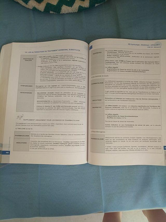 libro ginecología y obstetricia, francés