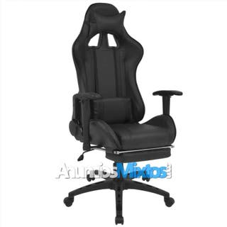 Silla de escritorio Racing reclinable con reposapi