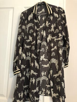 Zara Animal dress
