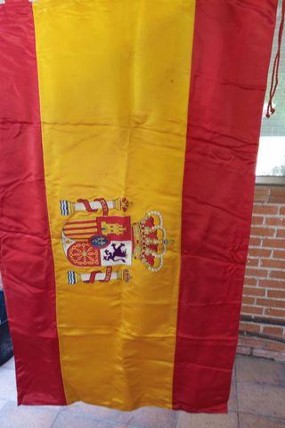 Bandera de España para despacho.