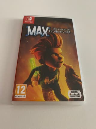 Max The Curse of the Brotherhood PAL ESP Switch