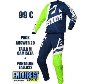 Pack Pantalon y camiseta ANSWER 20