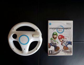 MARIO KART+ VOLANTE NINTENDO para Wii