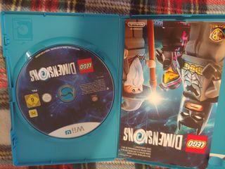 Lote 7 Juegos Wii U + figuras Lego Dimensions