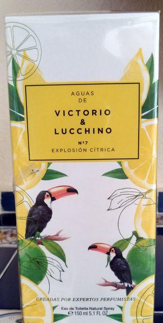 Agua de colonia Victorio y Lucchino