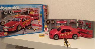 Taller de coches de Playmobil
