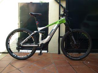 Bicicleta eléctrica doble suspensión Cube stereo