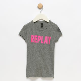 Camiseta niña Replay