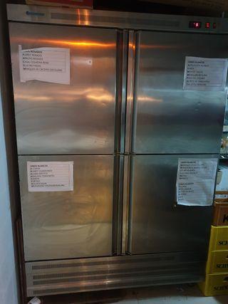 camara frigorifica de 4 puertas