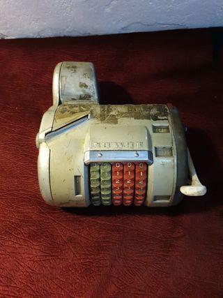máquina de billete