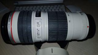 "Objetivo Canon 70-200 USM F4 ""Copito"" + Duplicador"