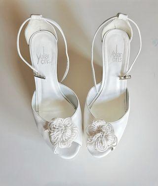 Zapatos de Novia Yolan Cris