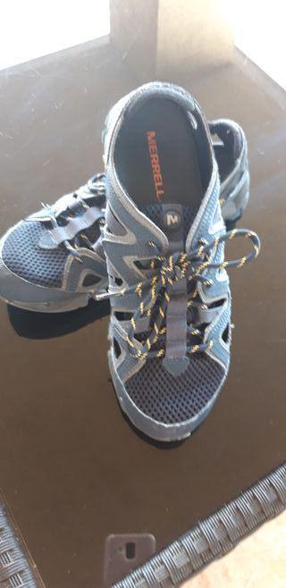 zapatos merrell talla 41