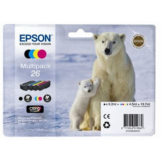 Epson T2616 Polar Bear Multipack Color Cartuchos D