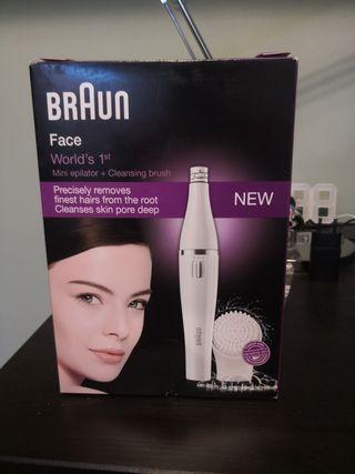 Braun 810 Depilador y cepillo limpieza facial