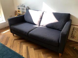 John Lewis Bailey large 3 seater sofa - navy