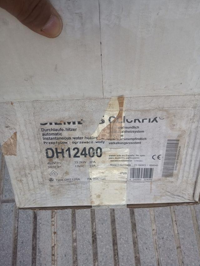 se vende calentador eléctrico instantaneo 12 kw nu