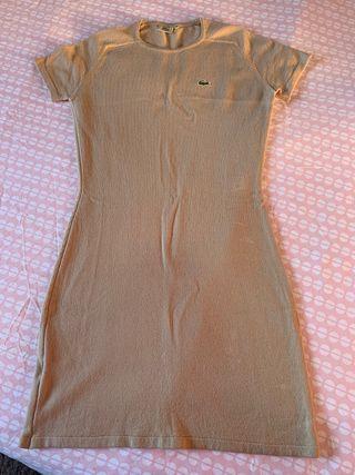 Vestido de lana Lacoste