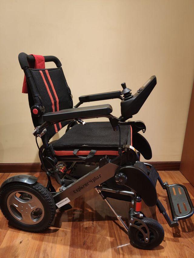 Silla ruedas eléctrica apex 4.0