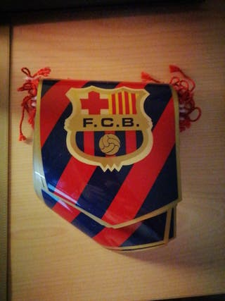Banderines retro FC Barcelona
