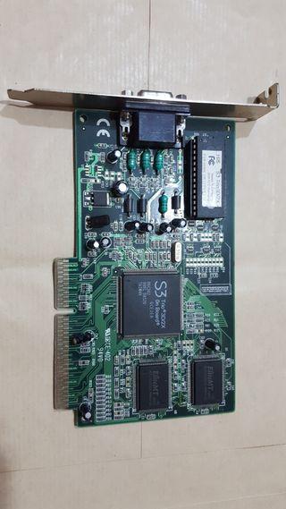 Grafica S3 TRIO 3D/2X 4MB AGP VGA