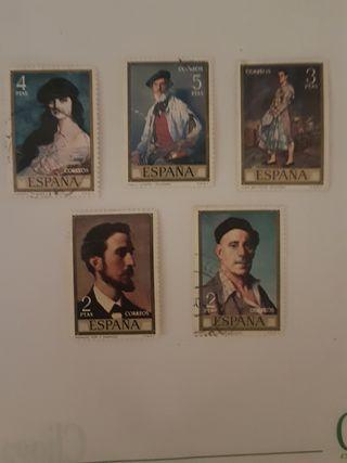 5 sellos España