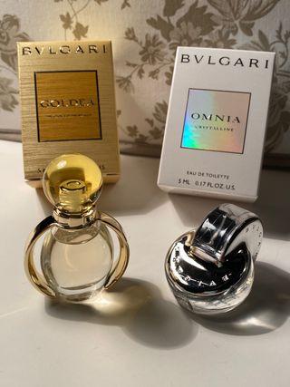 LOTE - Miniaturas de colección BVLGARI