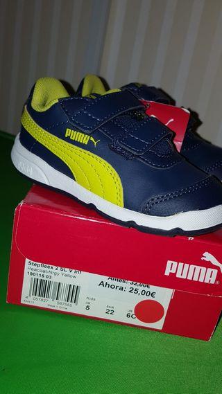 Zapatillas deportivas niño Puma A ESTRENAR NUEVAS