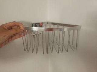 Esquinero de aluminio para baño