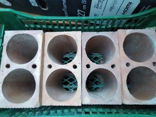 Ladrillos botelleros, ideal para bodega o trastero