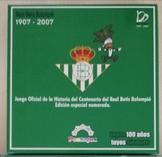 Juego mesa Centenario Betis