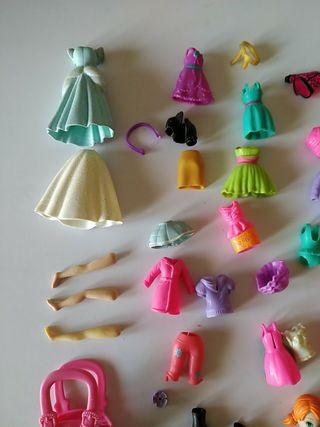 lote muñecas Polly pocket mas regalo