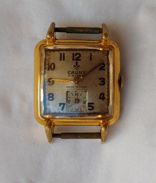 reloj señora Cauny Prima de 15 rubís, usado, funci